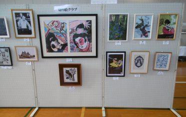 「みんなの作品展」を開催しました。