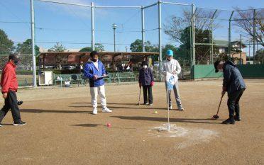 浅羽東グラウンドゴルフ大会を開催しました。