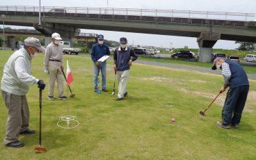 第6回 南地区グラウンドゴルフ大会を行いました。
