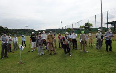 第12回豊沢ふれあいグランドゴルフ大会を開催しました。