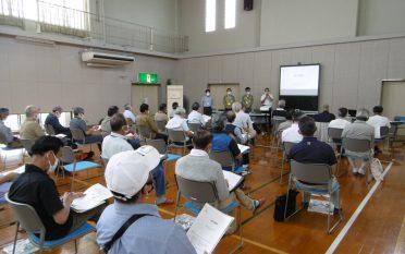 防災講演会を開催しました。