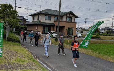 浅羽東ウォーキングキャラバンを開催しました。