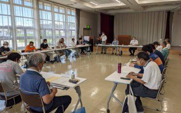 浅羽東地区まちづくり協議会第2回理事会を開催しました。